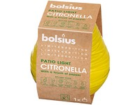 Bolsius Sklo 90x94 mm Citronella svíčka