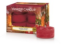 YANKEE CANDLE HOLIDAY HEARTH VONNÁ ČAJOVÁ SVÍČKA