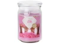 Emocio Sklo 93x142 mm se skleněným víčkem Pink Alley vonná svíčka