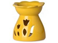 Aromalampa keramická 92x102mm, žlutá