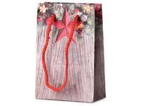 Taška dárková 100x150 mm vánoční dekorace