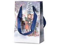 Taška dárková 100x150 mm děti + dárky s glitrem