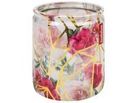 Bolsius Sklo 68x80mm Růže s krystaly, vonná svíčka