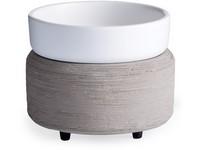 Candle Warmers elektrická aromalampa a ohřívač svíček 2v1 Gray Texture