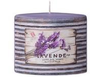 Elipsa 110x40x110mm aplikace Lavende svíčka