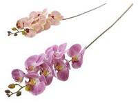 Umělé květiny, plast 800mm orchidej, mix barev