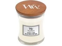 Woodwick Coconut & Tonka váza malá