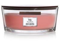 Woodwick Melon & Pink Quartz svíčka loď