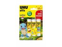 UHU STIC 3 x 8,2 g + Onpack BTS 2021 Pokemon