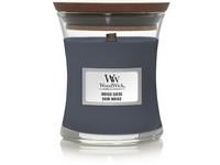 Woodwick Indigo Suede svíčka malá
