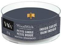Woodwick Indigo Suede svíčka petite