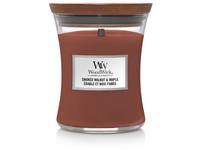 Woodwick Smoked Walnut & Maple svíčka střední