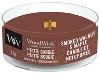 Woodwick Smoked Walnut & Maple svíčka petite