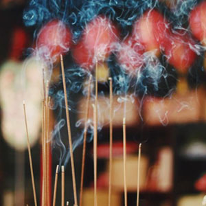 Amber & Incense