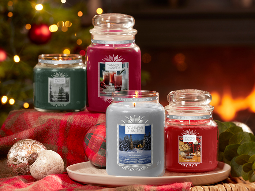 Vánoční novinky Yankee Candle