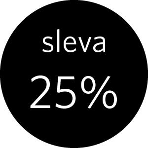 25% sleva