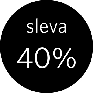 40% sleva